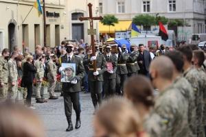 У Львові попрощалися з Героєм України Тарасом Матвіївим