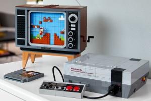 LEGO создала набор, из которого можно собрать приставку Nintendo