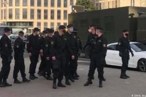 В Беларуси прошли жесткие массовые задержания участников акций протеста