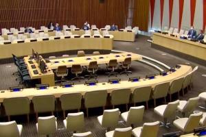 Совбез ООН провел первое невиртуальное заседание с начала пандемии