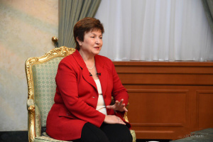 Georgiewa: Es liegt im Interesse der Ukraine, Unabhängigkeit der Nationalbank zu erhalten