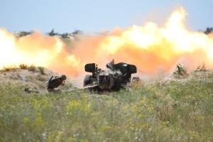 Днем и ночью: артиллерия ВМС отработала противодействие вражескому десанту
