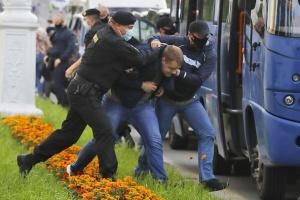 У Мінську міліція застосувала світлошумові гранати