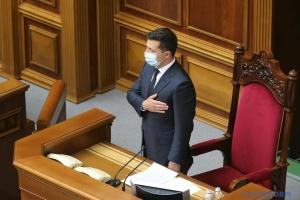 """Зеленський: Декларацію про суверенітет ніхто не """"завалював"""" тисячами поправок"""