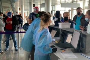 Во Львовском аэропорту начали проводить ПЦР-тесты для пассажиров