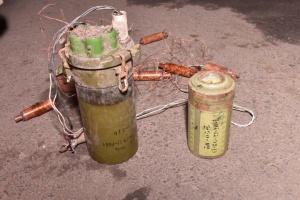 """На Донбасі сапери ЗСУ знешкодили російську протипіхотну міну """"Охота"""""""
