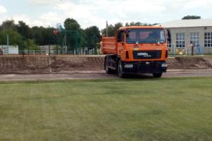 «Большое строительство»: на Луганщине начали реконструкцию стадиона