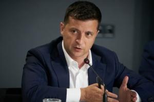 """Zełenski spodziewa się podpisania porozumienia o zawieszeniu broni w Donbasie w czasie """"Normandii"""""""