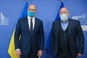 Шмигаль у Брюсселі зустрівся з віцепрезидентом Єврокомісії