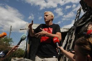 Шабунін заявляє, що експертиза підтвердила підпал його будинку