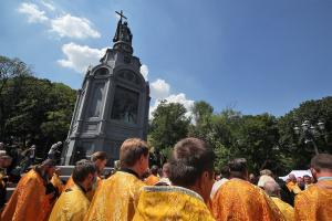 Правоохоронці перекрили центр Києва через хресний хід на честь річниці хрещення України-Русі