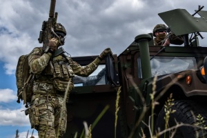 На Донбасі від початку доби - один ворожий обстріл з гранатомета