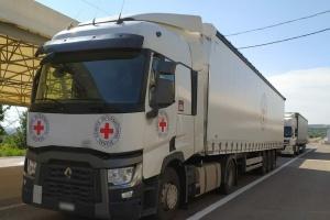 Rotes Kreuz schickt nach Donbass 40 Tonnen humanitäre Hilfe