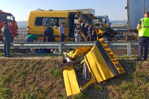 На Житомирщині вантажівка протаранила маршрутку: четверо загиблих