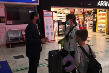 First tourists from Ukraine arrive in Antalya