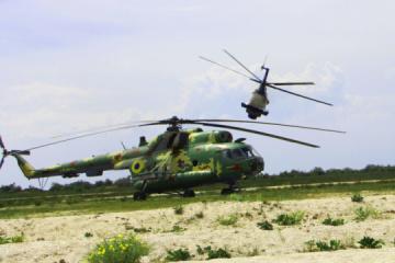Militares ucranianos realizan ejercicios de aviación naval a gran escala