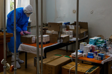 Number of COVID-19 patients in Ukrainian hospitals exceeds 27 thousand
