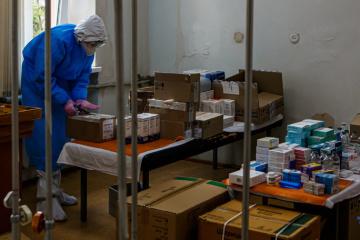 Na Ukrainie zarejestrowano 919 nowych przypadków COVID-19