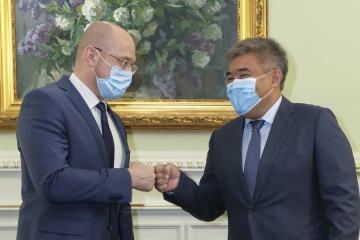 Ukrainian PM, Kazakh ambassador discuss trade, economic cooperation