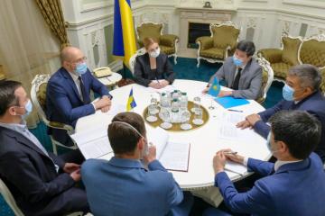 Schmyhal und Botschafter von Kasachstan sprechen über Handel und wirtschaftliche Zusammenarbeit