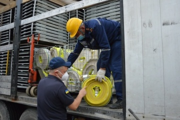 Flood-hit Ivano-Frankivsk region receives humanitarian aid from Sweden