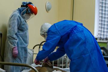 Na Ukrainie zarejestrowano 14575 nowych przypadków koronawirusa