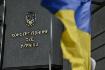 Constitutional Court calls on Zelensky to cancel his decree on Tupytskyi