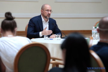 Shmygal inicia el fortalecimiento del potencial exportador de Ucrania