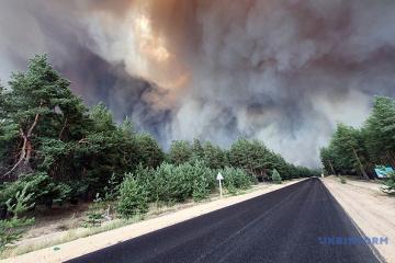 Brände in Region Luhansk: Zahl der Todesfälle gestiegen