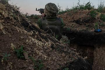 Donbass: Besatzer brechen 14 Mal die Waffenruhe: Ein Soldat getötet und drei verletzt