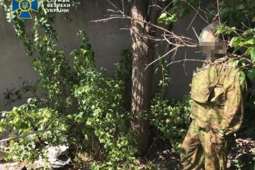 Służba bezpieczeństwa zatrzymała agenta FSB, który przygotowywał atak terrorystyczny w obwodzie ługańskim