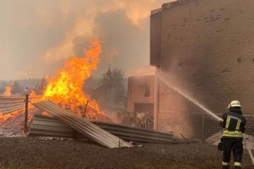 Ucrania en el GCT pide un alto el fuego tras los incendios en la región de Lugansk