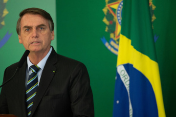 Bolsonaro agradece a Zelensky por apoyar en la lucha contra COVID-19