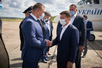 Zelensky visita la región de Volinia
