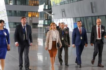 Stefanishyna: Ucrania y la OTAN buscan reanudar el trabajo de la Comisión a nivel ministerial
