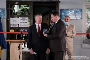 У Чернівцях відкрили почесне консульство Латвії