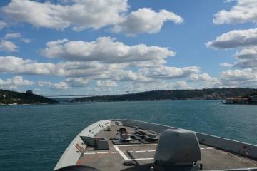 NATO ships enter Black Sea for exercises with Ukrainian, Bulgarian navies