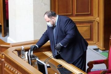 Erster Stellvertreter des Parlamentspräsidenten Stefantschuk mit Coronavirus infiziert