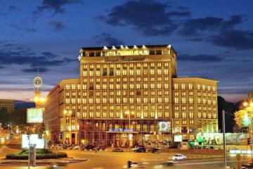 キーウ一等地の国有ホテル「ドニプロ」、民営化競売にて11億フリヴニャで落札 大統領も歓迎