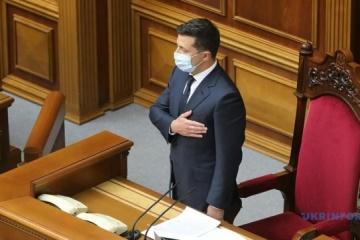 """Zełenski - Nikt nie """"zalał"""" Deklaracji Suwerenności tysiącami poprawek"""