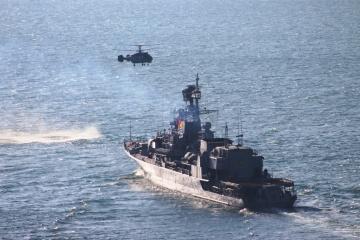 黒海にて多国間海軍共同演習開始