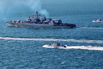 Eight countries taking part in 2020 Sea Breeze exercises