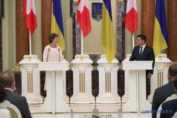 Zelensky calls on Switzerland to join development of tourism in Ukraine