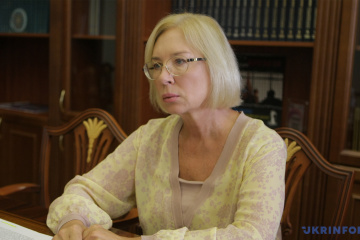 Denisova: 376 people illegally detained in occupied Crimea and Donbas