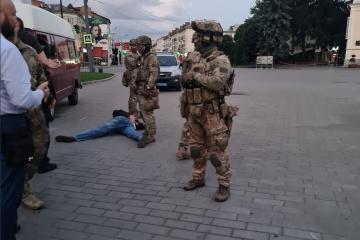 All bus hostages in Lutsk released, terrorist detained
