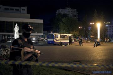 U.S. embassy welcomes successful release of hostages in Lutsk