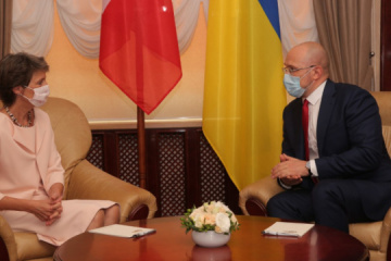 Ukraine's PM, President of Switzerland discuss joint economic projects