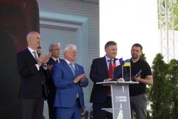 L'Ukraine a signé un contrat avec OCEA sur la construction de 20 bateaux-patrouilleurs pour les