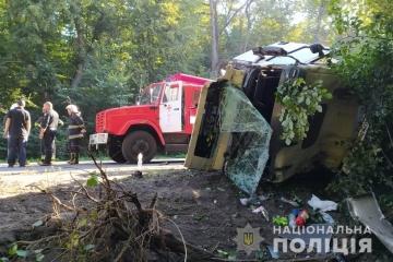 In der Region Winnyzja Verkehrsunfall mit vier Todesfällen