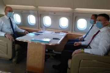 Shmygal realiza una visita de trabajo a Bruselas